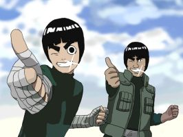 Rock Lee rocks my world by DmSexyRed