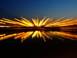 lights over Vistula by magick2