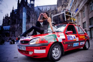 Mongol Rally 2009.. by Jageaux