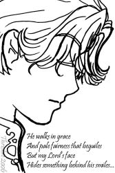 He Walks in Grace by Threshie