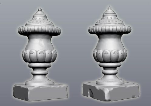Urn - High Poly Sculpt by Stoop--Kid