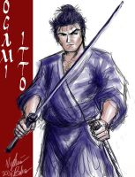 Ogami Itto - Lone Wolf and Cub by SilverKitty000