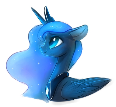 Luna Sketch. by Vistamage