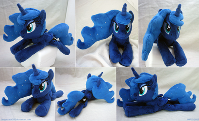 Princess Luna Beanie by SewYouPlushieThings