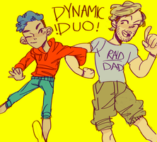 Dynamic Duo by Pukao