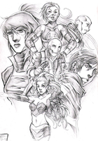 Dark Reign: Young Avengers by thanoodles