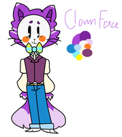 Clown Face Color Ref by TheCatQueen10