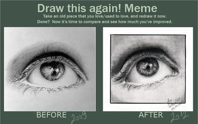 Draw the first one again by Pencil-Stencil