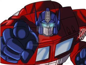 Optimus Prime by VerminGTi