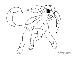 Glaceon Template