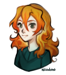 Nameless Girl- Bust by nicodomo