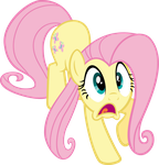 Scared Fluttershy by MoongazePonies