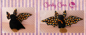 Candy Corn Bat by Ishtar-Creations