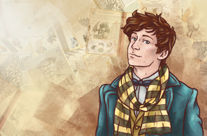 Newt [Fantastic Beasts] by LenleG