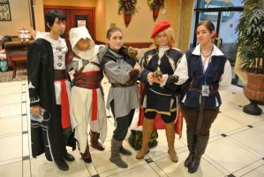 LouisiANIME 2012 - Assassin's Creed Group by anime4me00