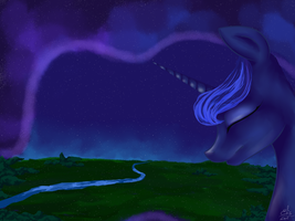 Princess Luna by mrsElisSmitt