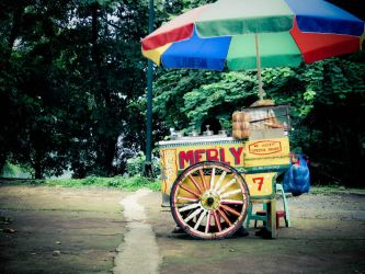 Dirty Ice Cream Cart by rodelflordeliz