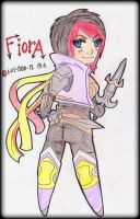 FIORA - THE GRAND DUELIST CHIBI by ii-ris-chan