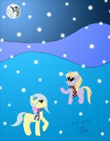 Snow in Equestria by GoggleSparks