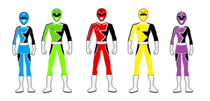 Power Rangers Astral Drive by RXArts