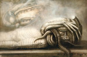 H. R. Giger XXIII by CamillOnline