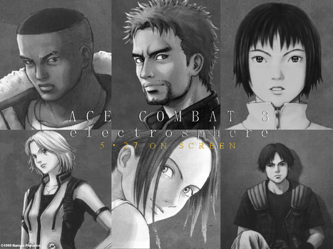 ACE COMBAT 3 electrosphere Theatrical Wallpaper by DragonSpikeXIII