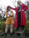 Edward Elric and Armony Eiselstein Cosplay by Animoholic-Redux