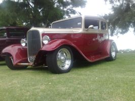 32 Ford Wagon by Moboist