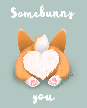 Somebunny loves you by CorinnaSchlachter