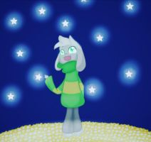 Undertale - Asriel by SuhaiCo