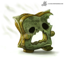 Daily Painting #947. Mold Zombie (OG) by Cryptid-Creations