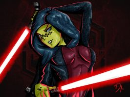 Barriss Offee - I think they suit me... by Totemos