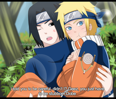 SasuNaru: Stop making me worry all the time by liloloveyou024