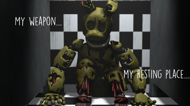 My Weapon..  My Resting Place... [SFM FNAF] by Elite151
