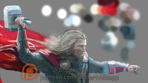 Thor WIP by newdeal666