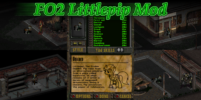 Fallout 2: Littlepip Mod by Donitz