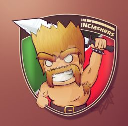 Clash of Clans Logo by ngetzky