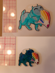 I has a Shrinky Dink Practice by forgotten-light