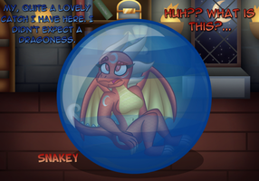 Bubbles and Dragons (Kinipharian Trade) by SnakeyThingy