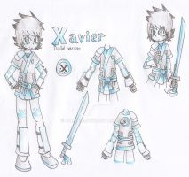 Contest Entry--Xavier's new outfit (deepclever) by AnaNini