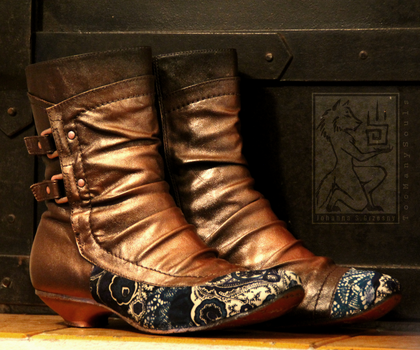 Copper Boots by TooManySouls