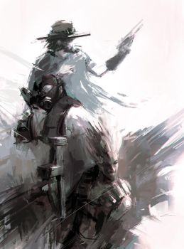 Junkrat's Outlaws (Overwatch) by Alex-Chow