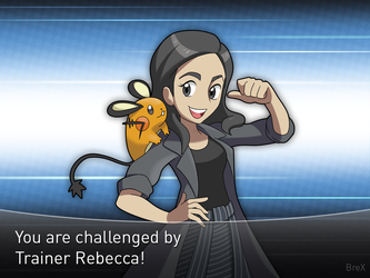 [Commission] Trainer Rebecca! by Brex5