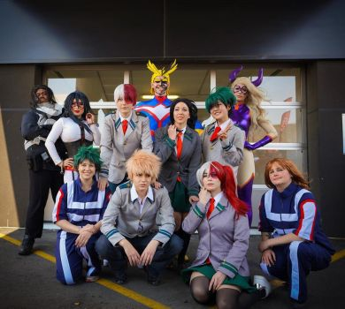 Class 1 A by SetsunaCosplay