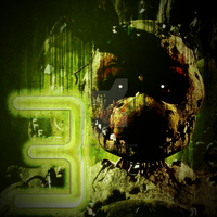 Stylized Springtrap Icon by TheBoofster