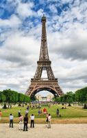 The Eiffel Tower by Awamia