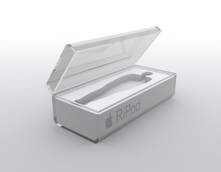 Steve Jobs RiPod by butisit