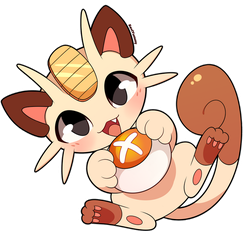 Meowth earned a point! by SeviYummy