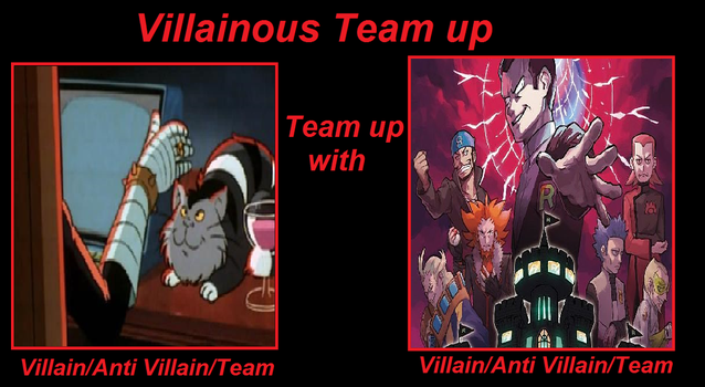 Dr. Claw Teams Up with Giovanni or others by ChipmunkRaccoonOz
