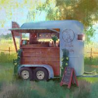 mobile cafe #2 by Roughend
